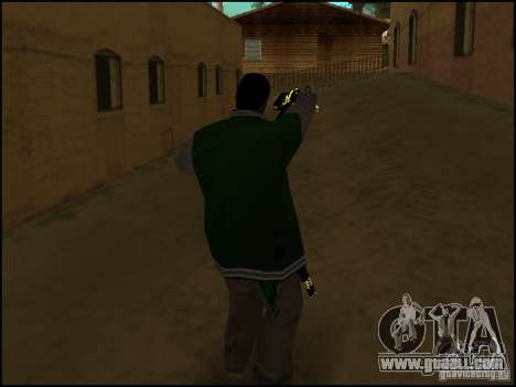 Weapon in one hand for GTA San Andreas second screenshot