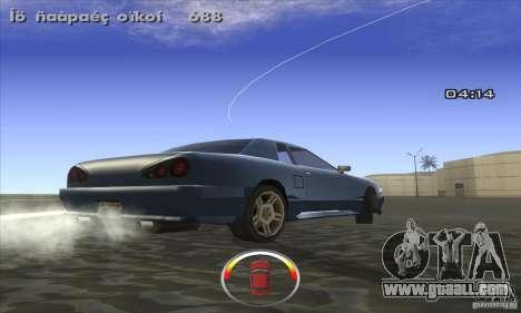 CLEO DRIFT Beta for GTA San Andreas second screenshot