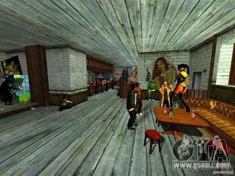 Mod Beber Cerveja V2 for GTA San Andreas eleventh screenshot