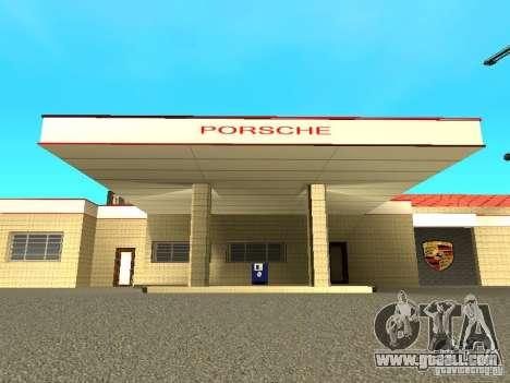Porsche Garage for GTA San Andreas second screenshot