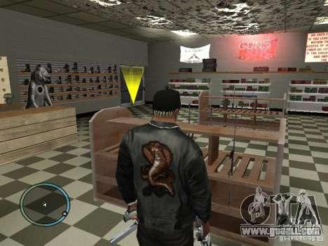 Russian Ammu-nation for GTA San Andreas fifth screenshot