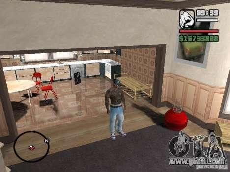 Ami James & Chris Nunez Tattoo for GTA San Andreas fifth screenshot