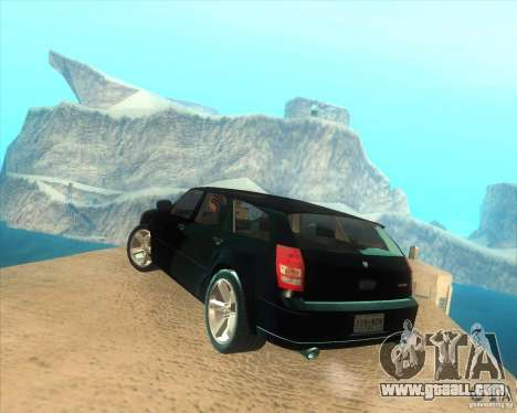 Dodge Magnum RT 2008 v.2.0 for GTA San Andreas left view