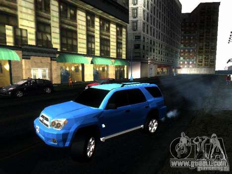 Toyota 4Runner 2009 for GTA San Andreas right view