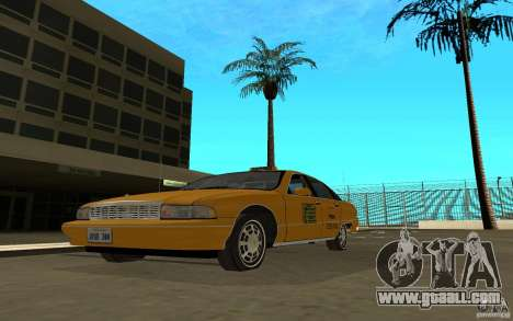Chevrolet Caprice taxi for GTA San Andreas