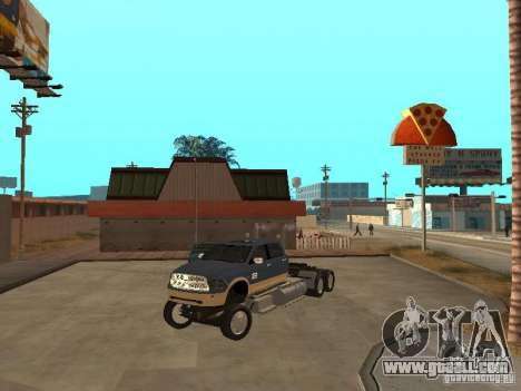 Dodge Ram for GTA San Andreas right view