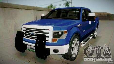 Ford Lobo Lariat Ecoboost 2013 for GTA San Andreas