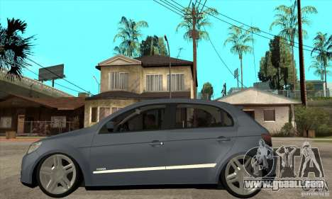 Volkswagen Gol G5 for GTA San Andreas left view