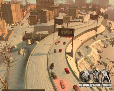 Freezing Rain for GTA 4 forth screenshot