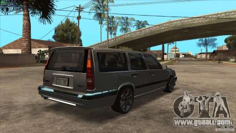Volvo 850 R for GTA San Andreas right view