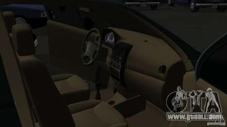 Daewoo Matiz for GTA San Andreas back view