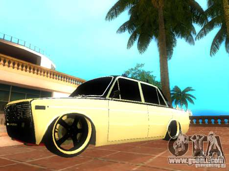 Vaz 2106 dag style for GTA San Andreas left view