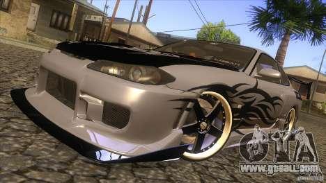 Nissan Silvia S15 Logan for GTA San Andreas side view