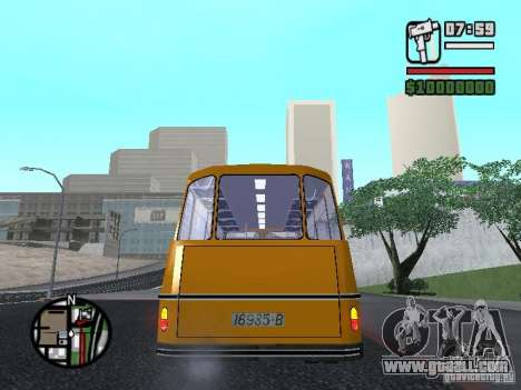 TV 7 for GTA San Andreas back left view
