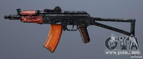 AKS74U for GTA San Andreas third screenshot