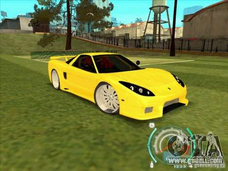 Honda NSX VeilSide from FnF 3 for GTA San Andreas right view