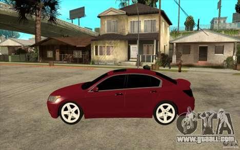 Honda Accord 2008 v2 for GTA San Andreas left view