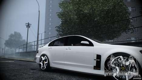 Holden HSV GTS for GTA 4 right view
