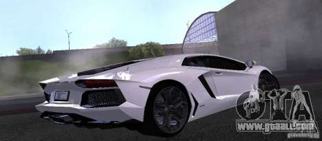 Lamborghini Aventador LP700-4 Final for GTA San Andreas left view