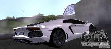 Lamborghini Aventador LP700-4 Final for GTA San Andreas left view