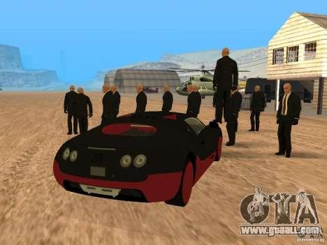 Bugatti Veyron Super Sport for GTA San Andreas left view