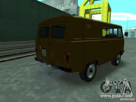 UAZ 3909 for GTA San Andreas back left view