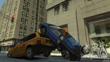 Lamborghini Reventon Police Hot Pursuit for GTA 4 upper view
