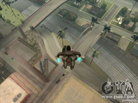 Jump off the Jet pack for GTA San Andreas second screenshot