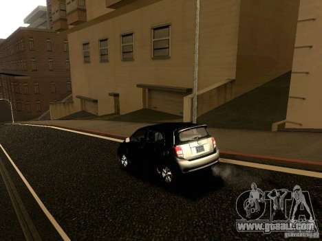 Scion xD for GTA San Andreas upper view