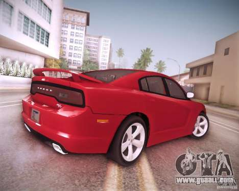 Dodge Charger 2011 v.2.0 for GTA San Andreas bottom view