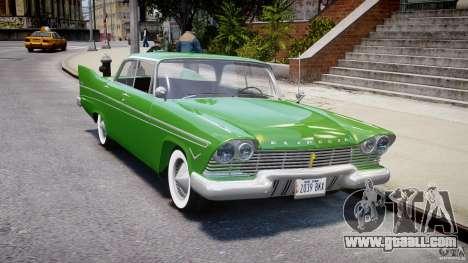 Plymouth Belvedere 1957 v1.0 for GTA 4 inner view