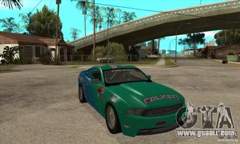 Ford Mustang GT Falken for GTA San Andreas back view