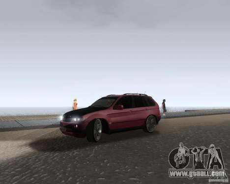 BMW X5 Sport Tun for GTA San Andreas left view