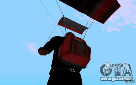 The new parachute for GTA San Andreas fifth screenshot