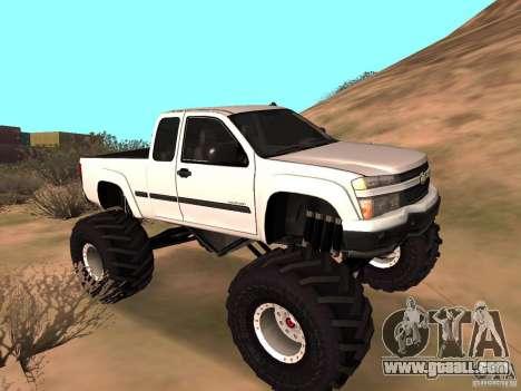 Chevrolet Colorado Monster for GTA San Andreas