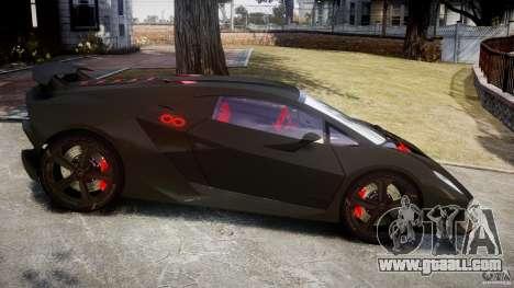 Lamborghini Sesto Elemento 2013 V1.5 for GTA 4 left view