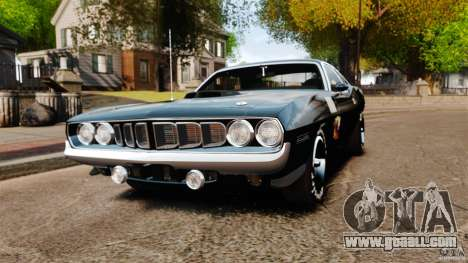 Plymouth Cuda 1971 for GTA 4