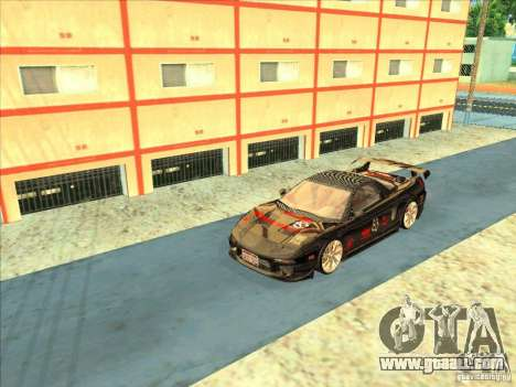 Acura NSX 1991 Tunable for GTA San Andreas back view