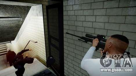 Barrett 98B (sniper) for GTA 4 fifth screenshot