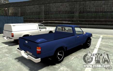 Toyota Hilux 1989-1993 Single cab v1 for GTA 4 right view