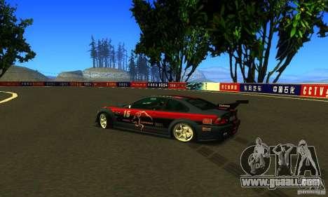 F1 Shanghai International Circuit for GTA San Andreas forth screenshot