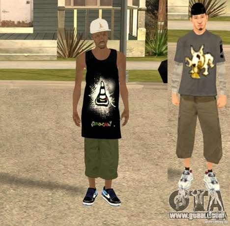 Cone Crew Skin for GTA San Andreas second screenshot