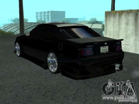 Toyota Chaser JZX 100 Tunable for GTA San Andreas right view