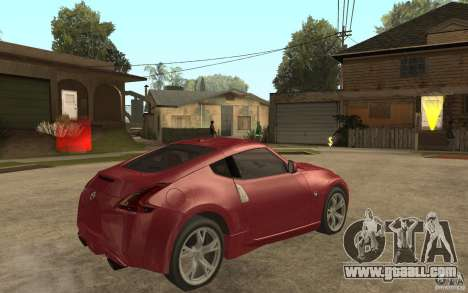 Nissan 370Z 2010 for GTA San Andreas right view