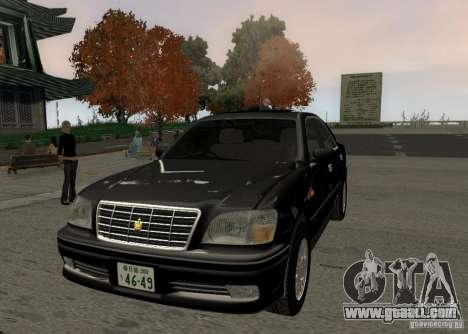 Toyota Crown Majesta S170 for GTA San Andreas