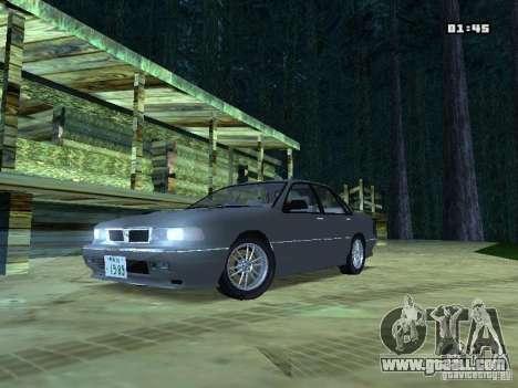 Mitsubishi Galant VR-4 1989 for GTA San Andreas