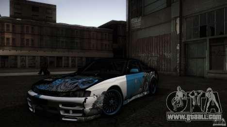 Nissan Silvia S14 NoNgrata for GTA San Andreas side view