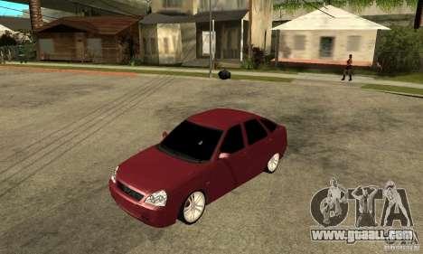 VAZ Lada Priora 2172 LT for GTA San Andreas