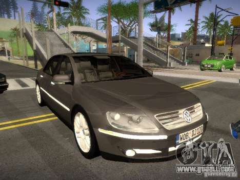 Volkswagen Phaeton W12 for GTA San Andreas left view