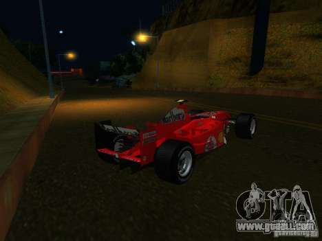 Ferrari F1 for GTA San Andreas left view